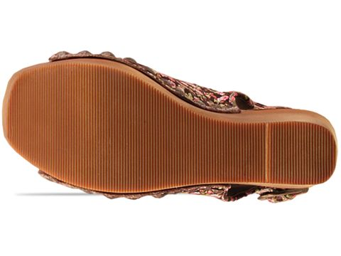 Jeffrey Campbell In Pink Floral Brown Snick Fab