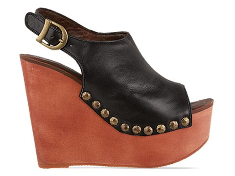 Jeffrey Campbell In Black Calf Snick Std