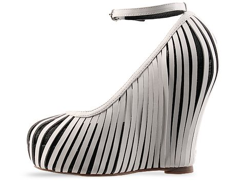 Jeffrey Campbell In White Black So Crazy