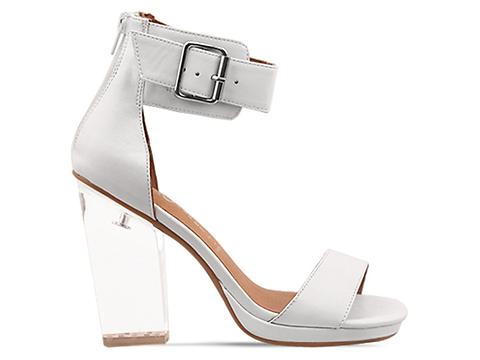 Jeffrey Campbell In White Cear Soiree