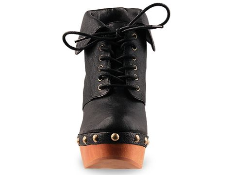 Jeffrey Campbell In Black Leather Solvang