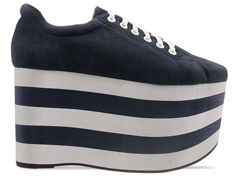 Jeffrey Campbell In Navy Sporty