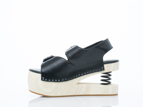 Jeffrey Campbell In Black Springy