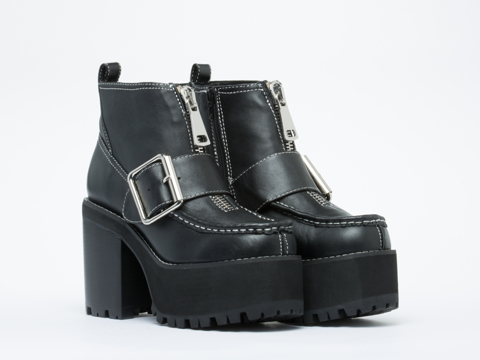 Jeffrey Campbell In Black Staley