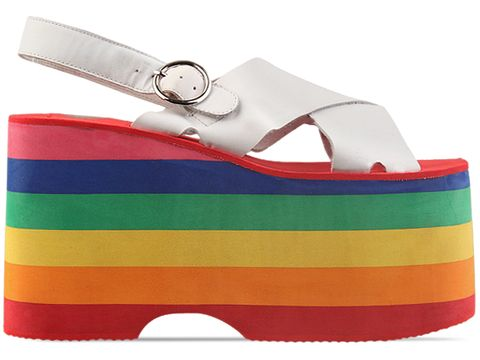 Jeffrey Campbell In White Rainbow Starlight