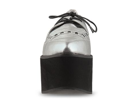 Jeffrey Campbell In Silver Stinger