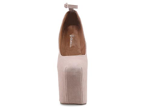 Jeffrey Campbell In Nude Suede Street Cred