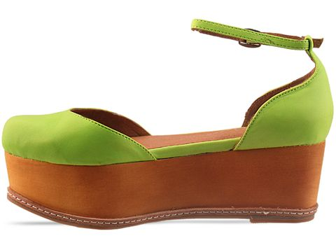 Jeffrey Campbell In Green Neon Suebee