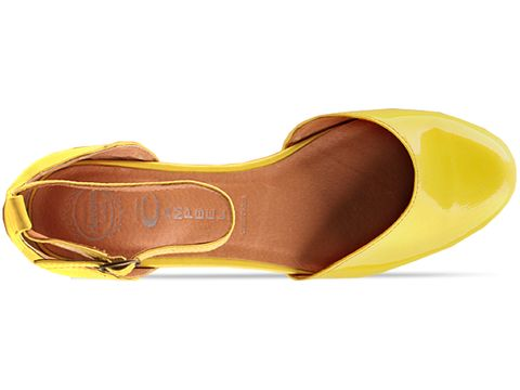 Jeffrey Campbell In Yellow Patent Suebee
