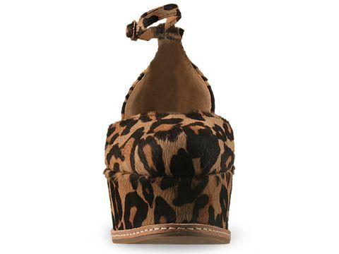 Jeffrey Campbell In Brown Leopard Suebee Fur