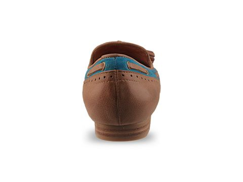 Jeffrey Campbell In Tan Turquoise Sunshine