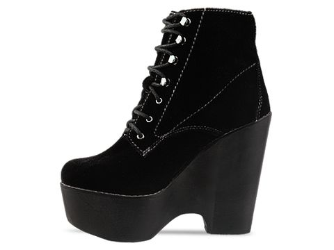 Jeffrey Campbell In Black  Velvet Tardy