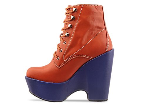 Jeffrey Campbell In Orange Blue Tardy