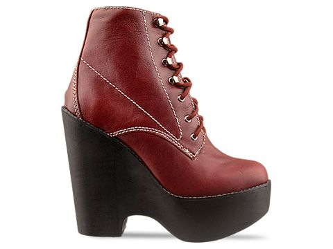 Jeffrey Campbell In Red Tardy