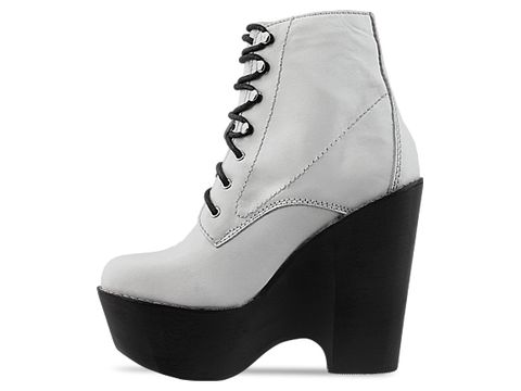 Jeffrey Campbell In White Leather Tardy