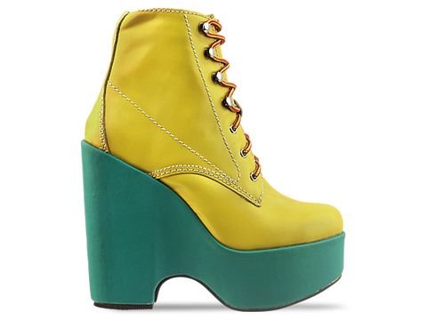 Jeffrey Campbell In Yellow Green Tardy