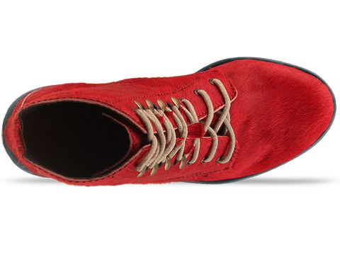 Jeffrey Campbell In Red Blue Tardy Fur