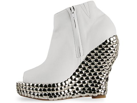 Jeffrey Campbell In White Calf Tick