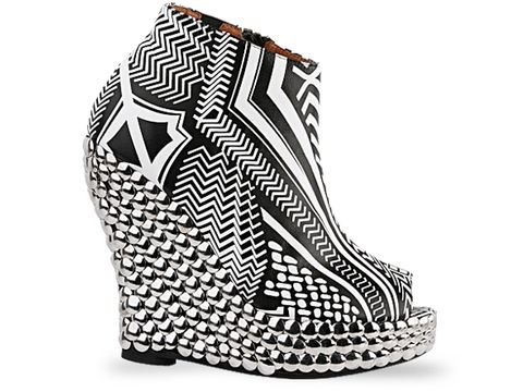 Jeffrey Campbell In White Tribal Tick