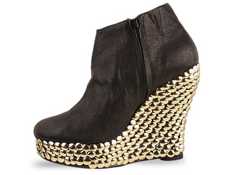 Jeffrey Campbell In Black Gold Ticket