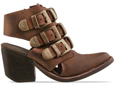 Jeffrey Campbell In Brown Distressed Tripoli