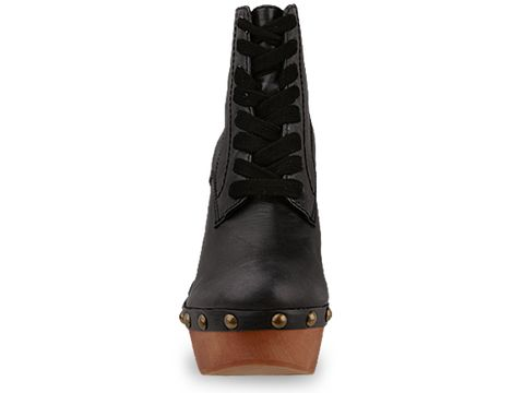 Jeffrey Campbell In Black Leather Tube 2