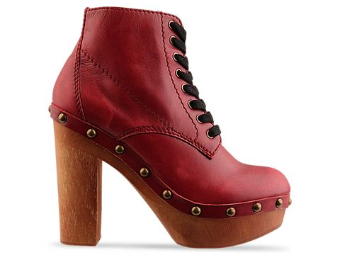 Jeffrey Campbell In Red Distressed Tube 2