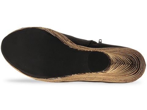 Jeffrey Campbell In Black Gold Turino