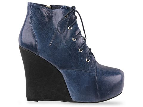 Jeffrey Campbell In Navy Black Two Timer