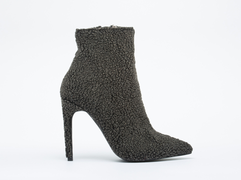 Jeffrey Campbell In Grey Vain Shag