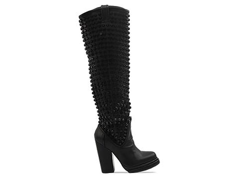 Jeffrey Campbell In Black Black Vigil Stud