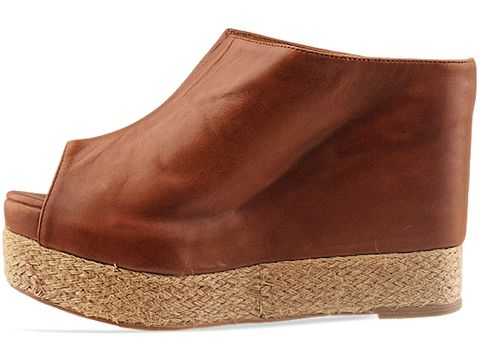Jeffrey Campbell In Brown Leather Virgo