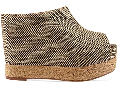 Jeffrey Campbell In Natural Black Raffa Virgo Fab