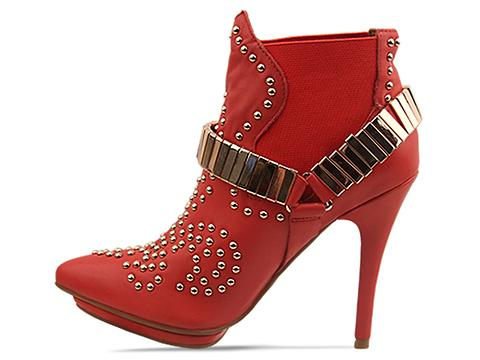Jeffrey Campbell In Red Gold Volpe