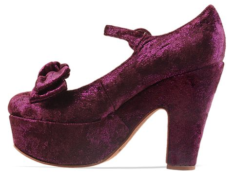 Jeffrey Campbell In Purple Wanted G