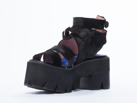 Jeffrey Campbell In Black Hair Black Weymouth