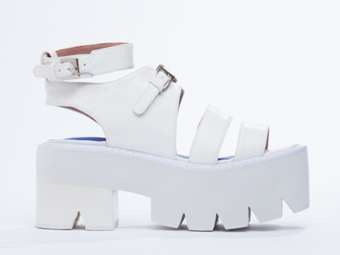 Jeffrey Campbell In White White Weymouth