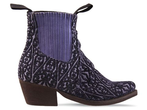 Jeffrey Campbell In Blue Tapestry Yuma Fab