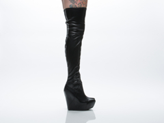 Jeffrey Campbell In Black Stretch Zima