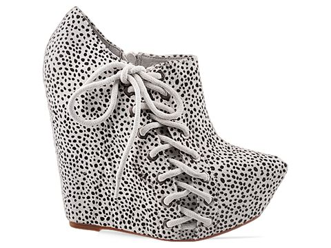 Jeffrey Campbell In White Black Zup Fur