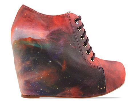 Jeffrey Campbell X BlackMilk In Rainbow Galaxy 99 Tie