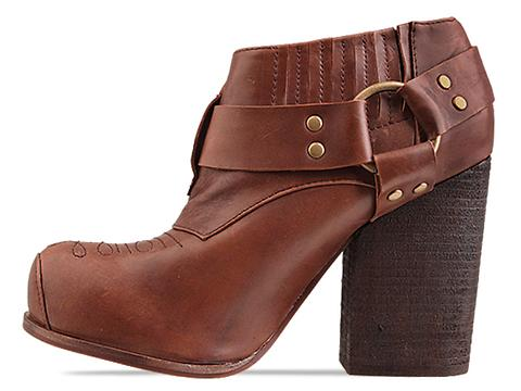 Jeffrey Campbell X Solestruck In Brown Distressed Drew LTD