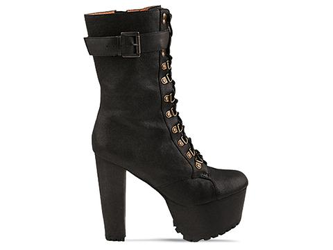 Jeffrey Campbell X Wildfox In Black Sergeant Pepper