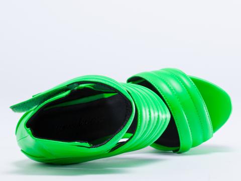 Jennifer Chou In Neon Green Carmelo