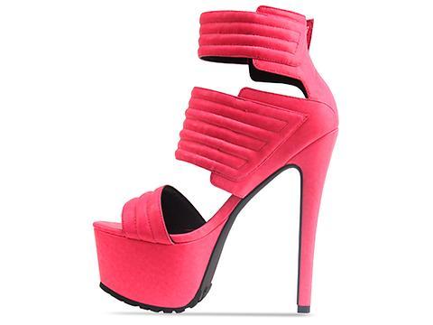 Jennifer Chou In Neon Pink Carmelo
