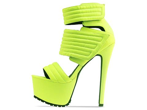 Jennifer Chou In Neon Yellow Carmelo