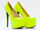 Jennifer Chou In Neon Yellow Cathrine