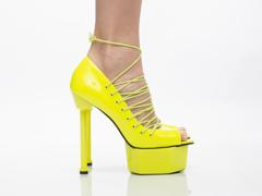 Jennifer Chou In Neon Yellow Topanga 2.0