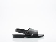 Jerusalem Sandals In Black Aravah Mens