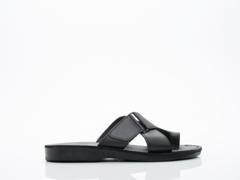 Jerusalem Sandals In Black Asher Mens